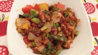 Chilli Chicken - Boneless Chilli Chicken Recipe - (indo-chinese)