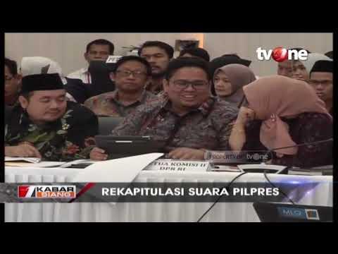 Rapat Pleno KPU Jelang Penetapan Hasil Rekapitulasi Pada 22 Mei Mendatang
