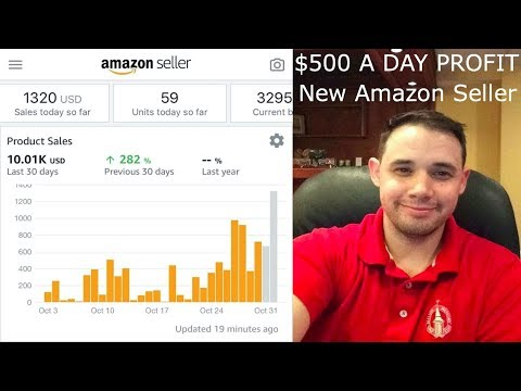$500 A DAY PROFIT! As a NEW Amazon Seller! STUDENT SUCCESS STORY #1