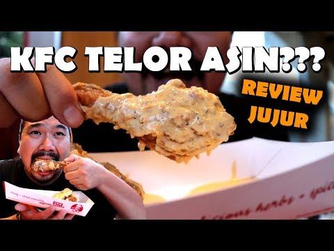 KFC SALTED EGG! ENAK GAK YA?   REVIEW JUJUR
