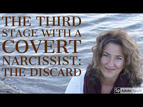 The Third Stage With a Covert Narcissist: The Discard - YouTube