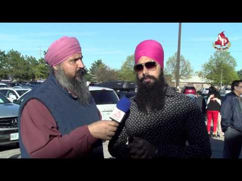 Jagrup Singh / Binder / APNAPUNJAB TV / Federal NDP Leadership Event