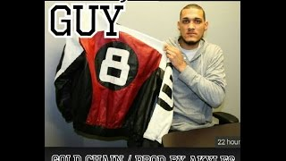 8 ball jacket guy support GoldChain By Akyles El Guerrero Musical