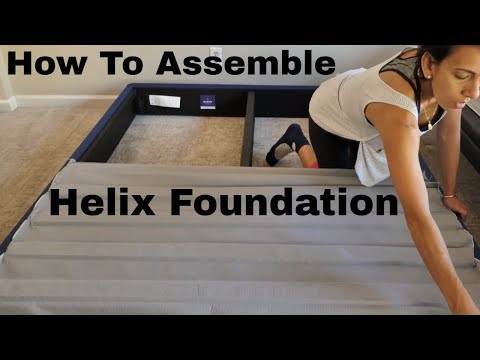 How To Assemble The Helix Foundation