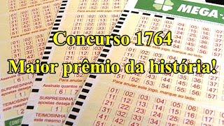 Resultado Mega Sena concurso 1764 de 25/11/2015
