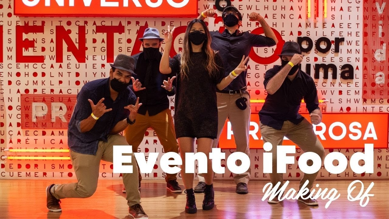 Evento iFood (Making Of) - Banda Chocolate Quente   Banda para Eventos