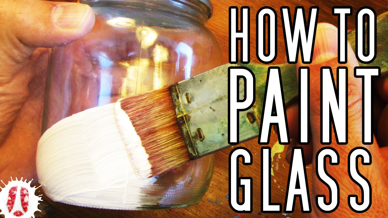 How to paint on glass bottles pots jars etc painting for Remove paint from glass bottle