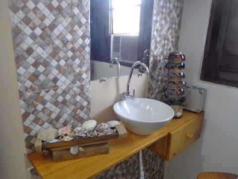 lavabo passo a passo f cil e barato youtube On lavabos pequenos baratos