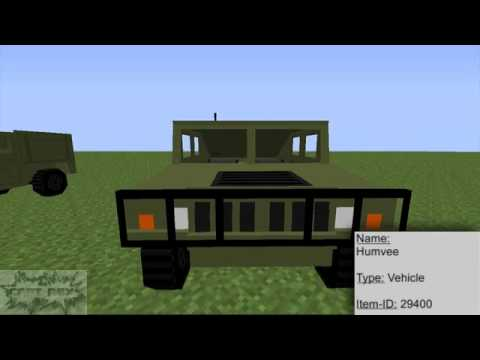 Minecraft E61- Manus Vehicle Pack