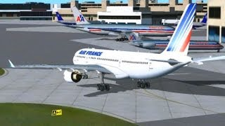 Flight Simulator X -Boston-Paris by Air France