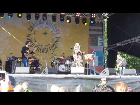 Aziza Brahim, (Part 1/2) @World Village Festival 2015, Helsinki