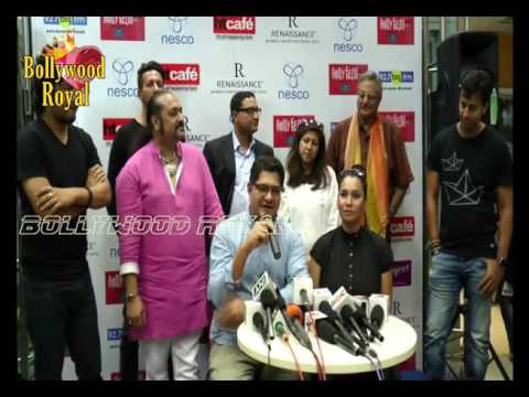 Salim, Sulaiman, Papon, Colonial Cousins & Dhruv Ghanekar at Press Meet of 'Festival Paddy Fields'Pa