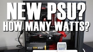 How Many Watts Does Your Power Supply Need Wattage Guide
