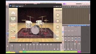 Logic Pro X Tutorials - Drummer tracks & Drum Kit Designer 3/4