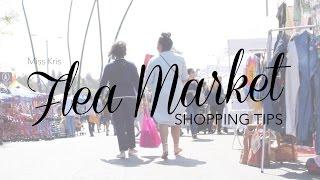 Flea Market +Vintage Shopping Tips \\ #MissKrisTV | Miss Kris