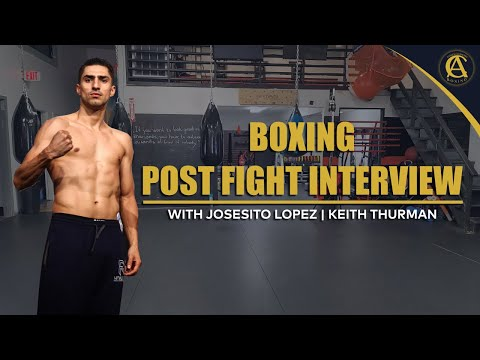 Boxing | Post fight interview with josesito lopez | keith rhurman