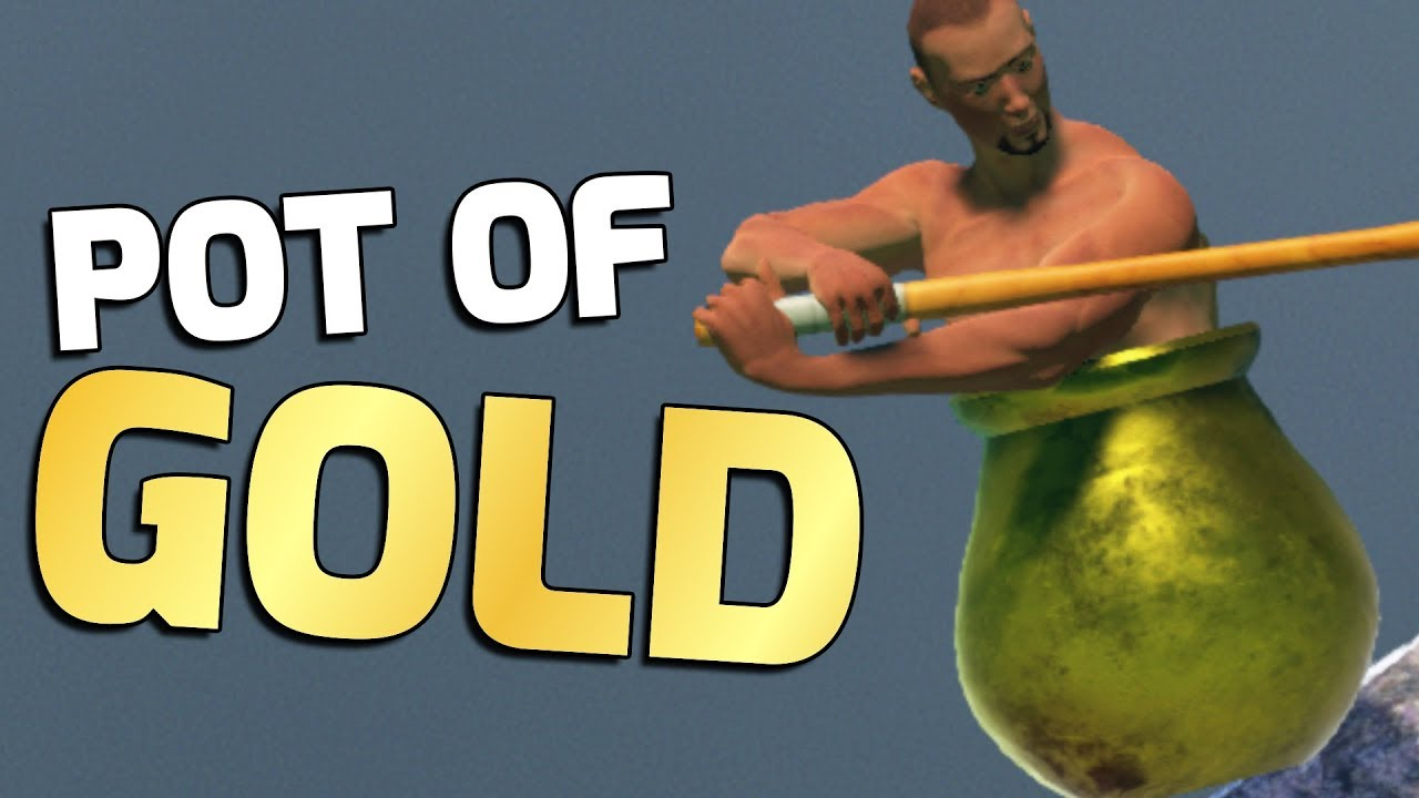 Unlocking the GOLDEN POT! (Getting Over It)