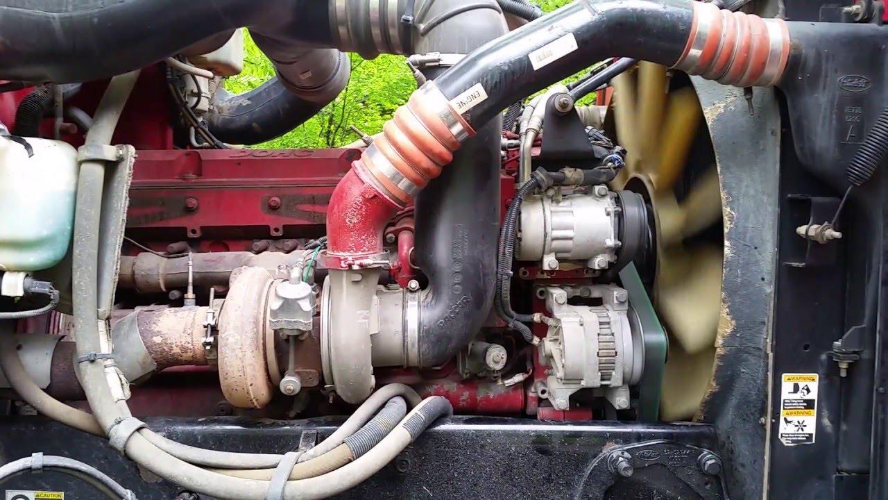565HP Cummins ISX-CM870 Running in a 2007 Peterbilt 357 Dump Truck