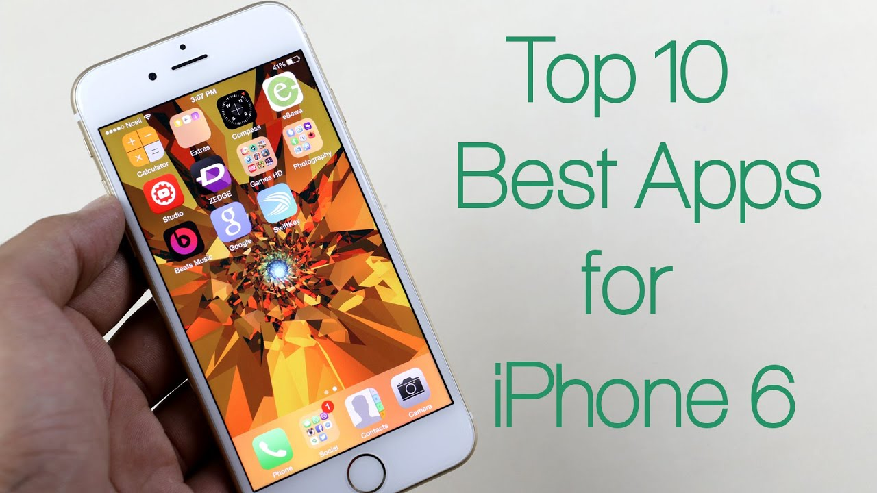 best rated apps for iphone