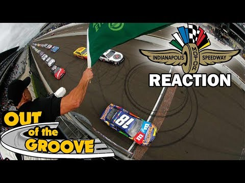 BEST BRICKYARD RACE? NASCAR Indy Reaction and Analysis