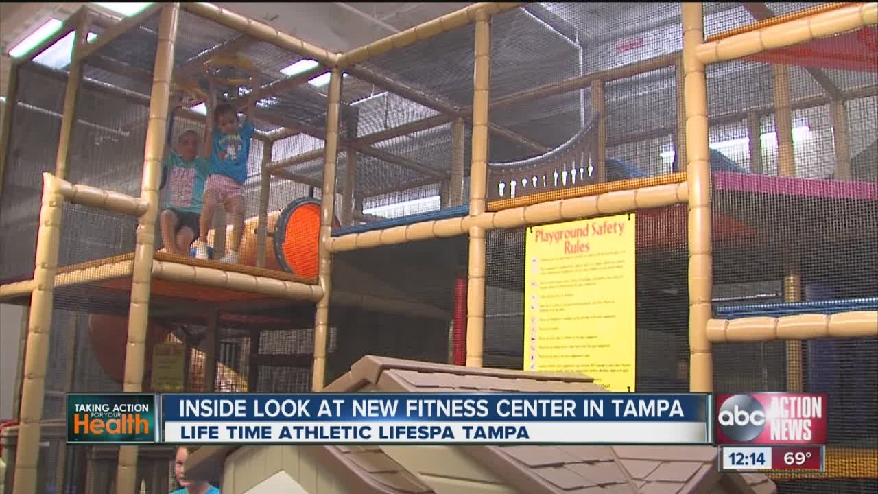 Grand Opening For Lifetime Athletic And Lifespa In Tampa