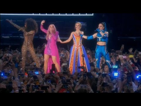 France 24:Spice Girls end tour with emotional apology
