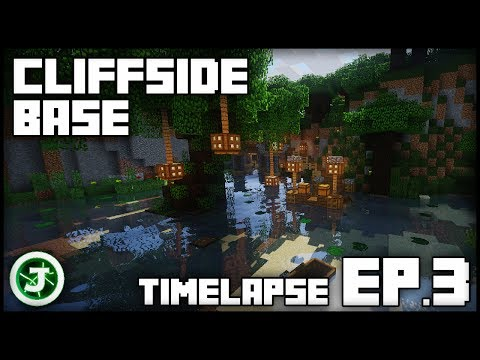 Minecraft Timelapse - Cliffside Base Ep.3 (With Download)