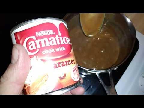 Boiling Nestle Carnation Caramel