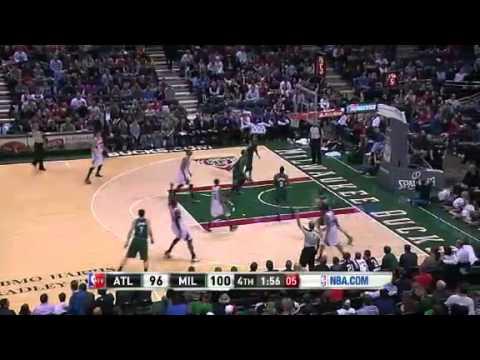 Hawks vs  Bucks   GAME RECAP   NBA 2012 13 Season Feb 23, 2013   YouTube