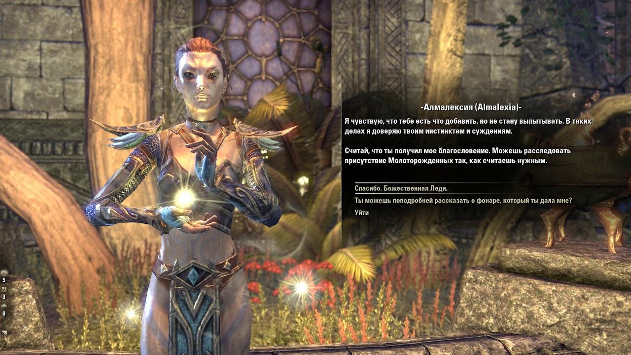 Elder Scrolls  Online - Услуга за услугу