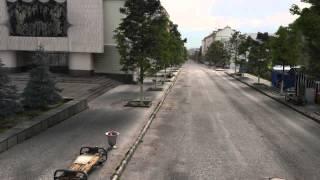 Реконструкція вигляду вулиці міста зразка 90-х