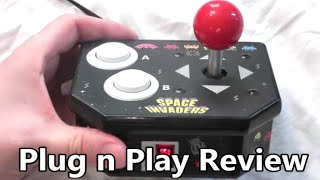 Space Invaders Retro Arcade Plug n Play System Review The No Swear Gamer Ep 227