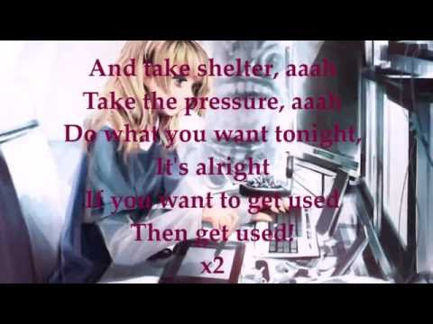 [Nightcore]_Take Shelter (lyrics)