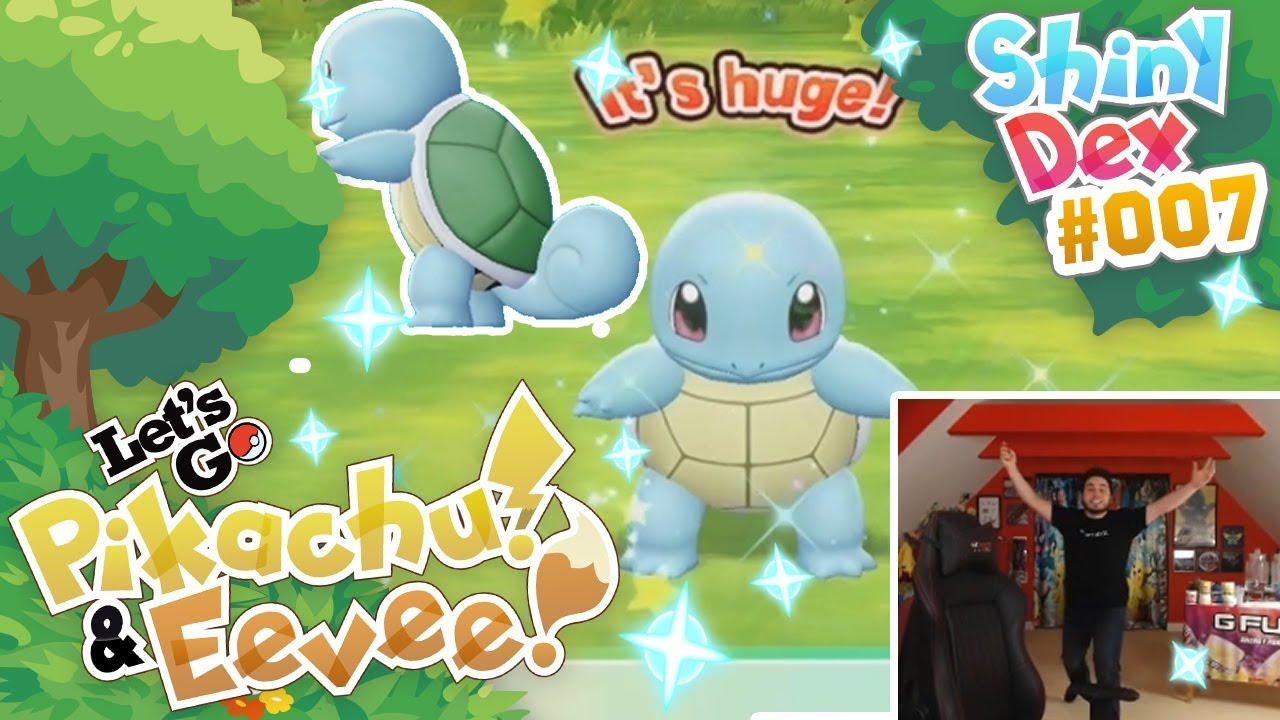 Finally I Got It Epic Shiny Squirtle In Pokemon Lets Go Pikachu And Eevee Youtube Squirtle is boosted by rain weather. finally i got it epic shiny squirtle in pokemon lets go pikachu and eevee