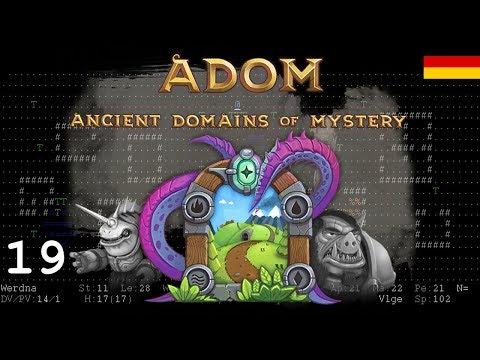 Let's Play ADOM [DE] 19 Si, Don Yergius