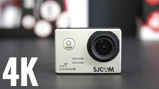SJCAM SJ5000X Elite 4K Action Camera REVIEW amp Sample Videos