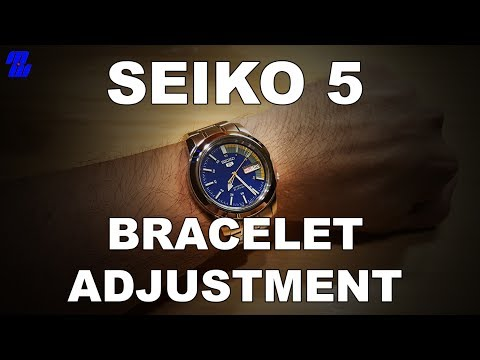 Re-size A Seiko 5 Bracelet Like A Boss With Household Items