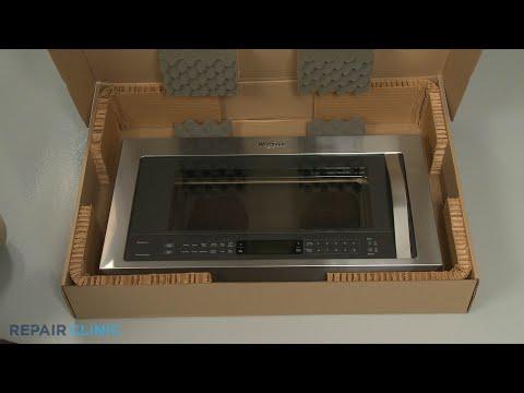 Door Assembly - Whirlpool Microwave Oven/Hood Combo  #WMH73521CS6