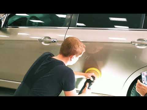 Chevrolet Epica полировка двери