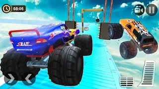 4x4 Impossible Monster Truck Stunt Race - Monster Truck Driving - Android Gameplay Video FHD