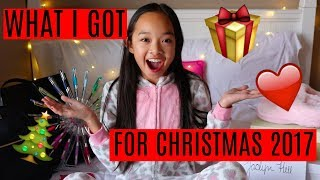 WHAT I GOT FOR CHRISTMAS 2017!!! Nicole Laeno