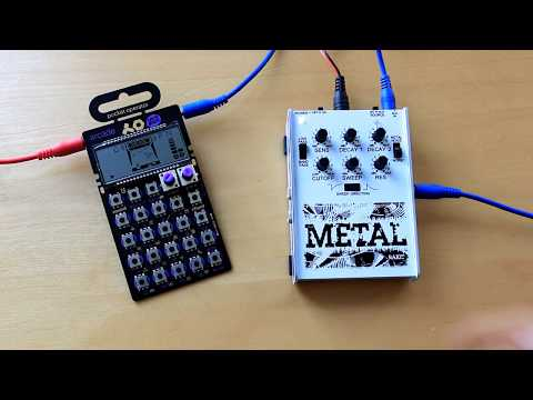 Rakit Metal Synth with PO-20 Arcade