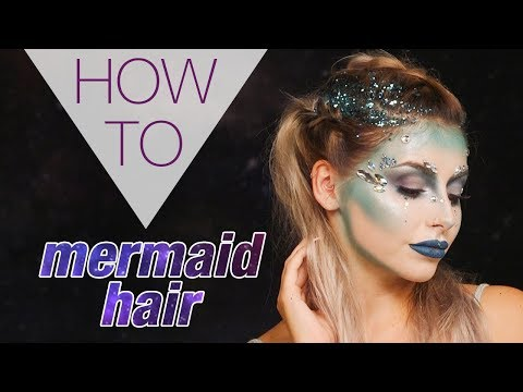 MERMAID HAIR | HALLOWEEN | STEPHANIE TOMS | HAIR TUTORIAL | Superdrug