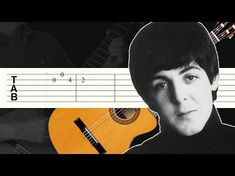 And I Love Her / The Beatles / Guitarra Tutorial / Tablatura