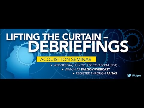 Lifting the Curtain: Debriefings