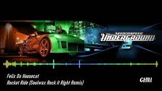 [NFSU 2 Soundtrack] Felix Da Housecat - Rocket Ride (Soulwax Rock it Right Remix)