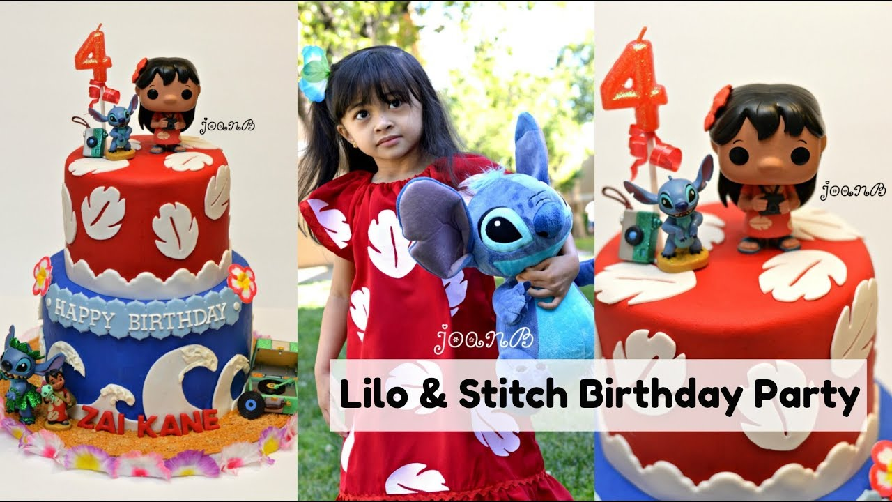Lilo And Stitch Birthday Cake