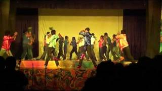 "Lyceum International School Panadura Boys Performing to "" Rama."" Tamil Dance - (MUZICALE - 2012)"