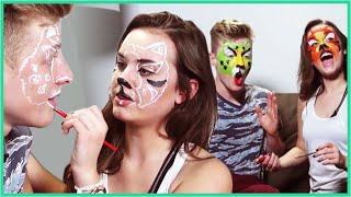 FACE PAINTING! - Arden Rose Wants a Date
