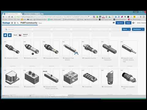 Onshape - Integration of PARTcommunity - powered by CADENAS